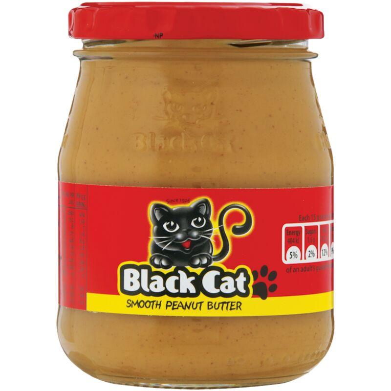 BLACK CAT PEANUT BUTTER SMOOTH – 270G