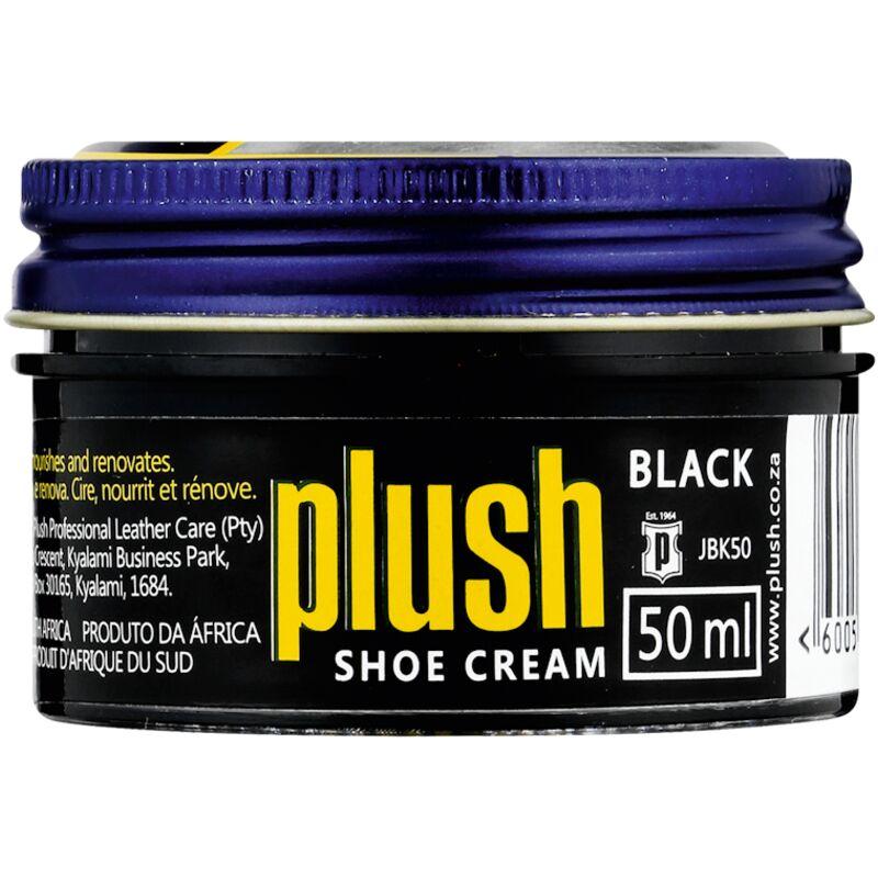 PLUSH SHOE CREAM BLACK – 50ML