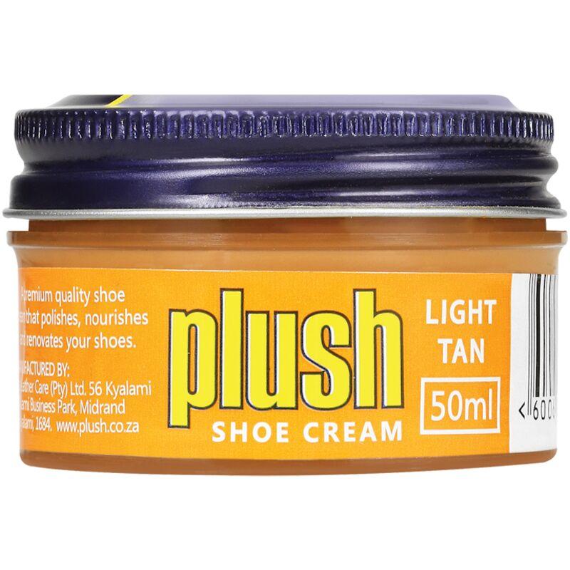 PLUSH SHOE CREAM LIGHT TAN – 50ML