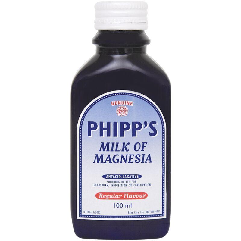 PHIPPS MILK OF MAGNESIA – 100ML