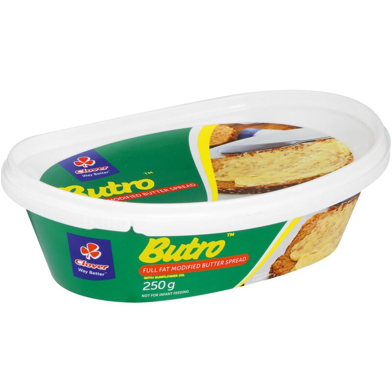 BUTRO BUTTER SPREAD IN TUB – 250G