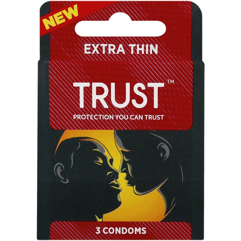 TRUST CONDOMS EXTRA THIN – 3S