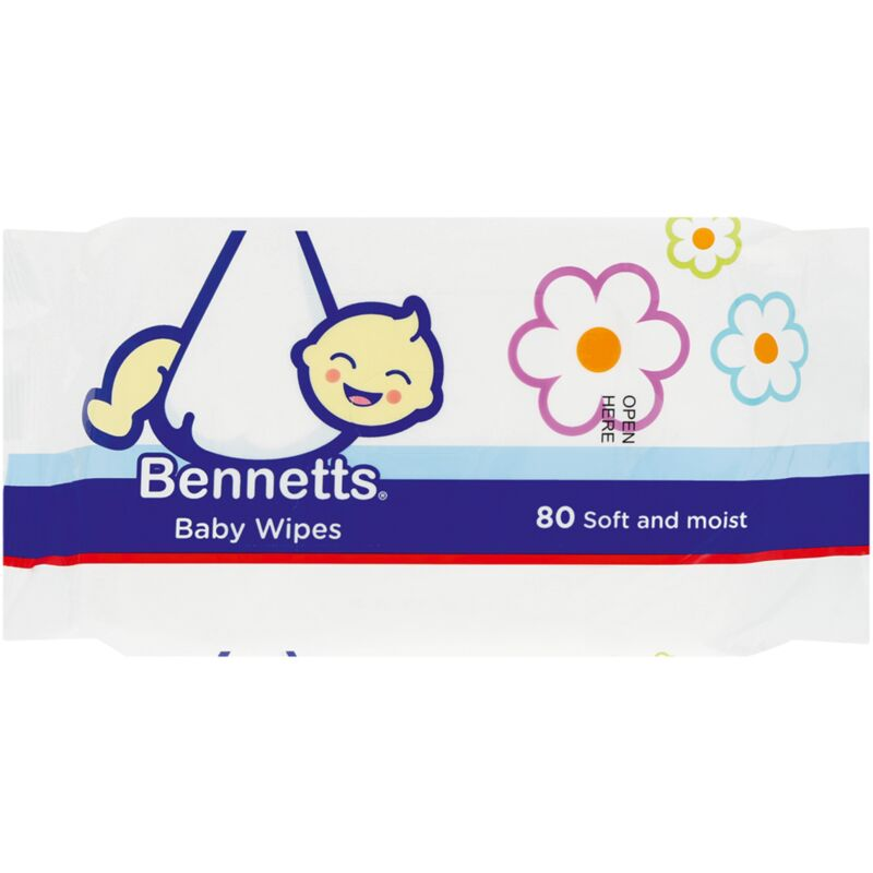 BENNETTS BABY WIPES – 80S