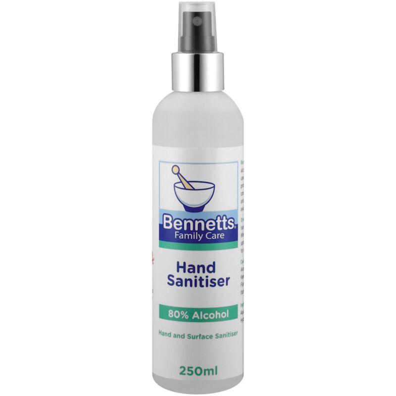 BENNETTS HAND SANITISER 250ML – 250ML