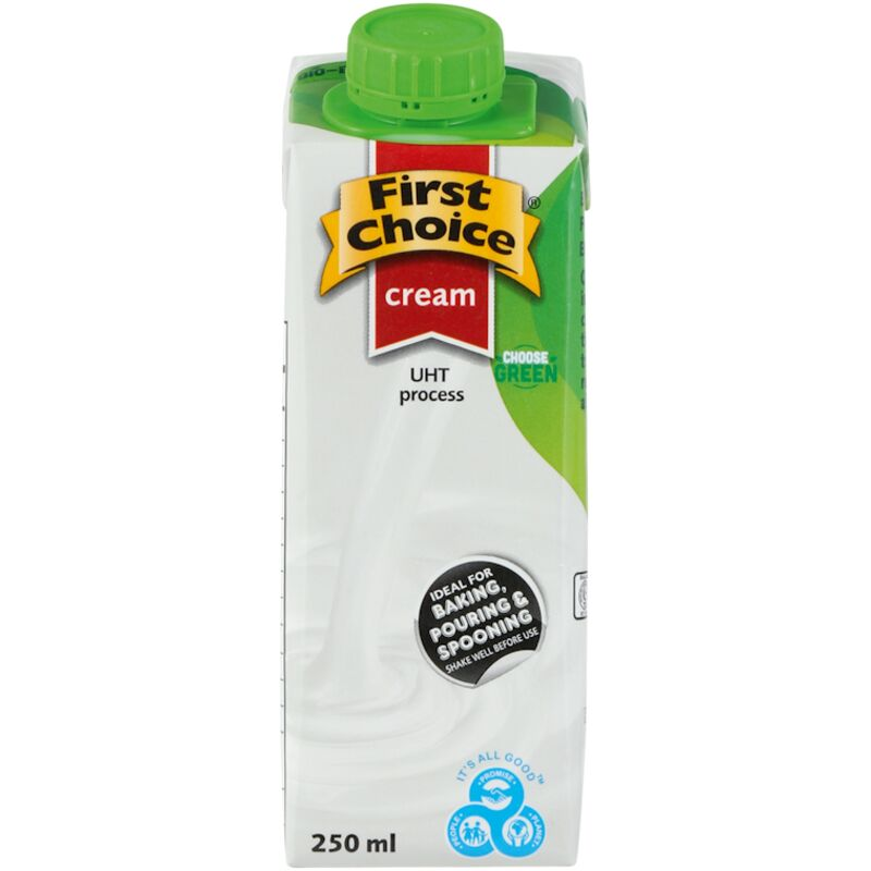 FIRST CHOICE CREAM UHT – 250ML