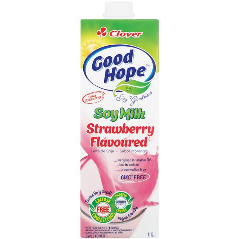 GOOD HOPE MILK SOYA SHAKE STRAWBERRY – 1L