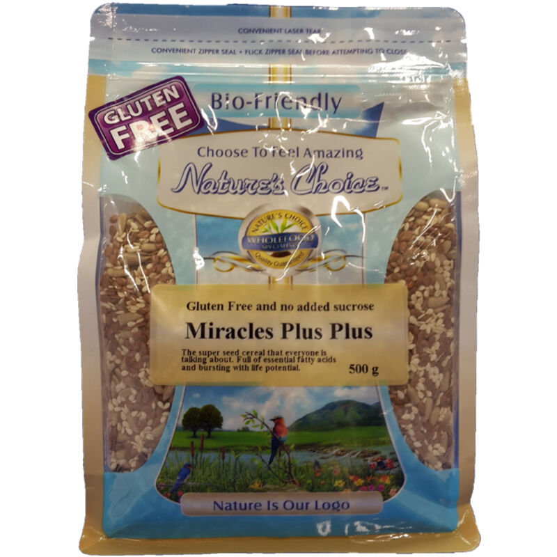 NATURES CHOICE MIRACLE SEED MIX – 500G