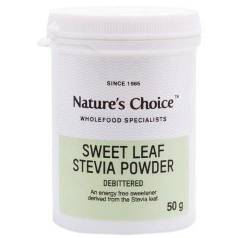NATURES CHOICE STEVIA SWEETENER – 50G