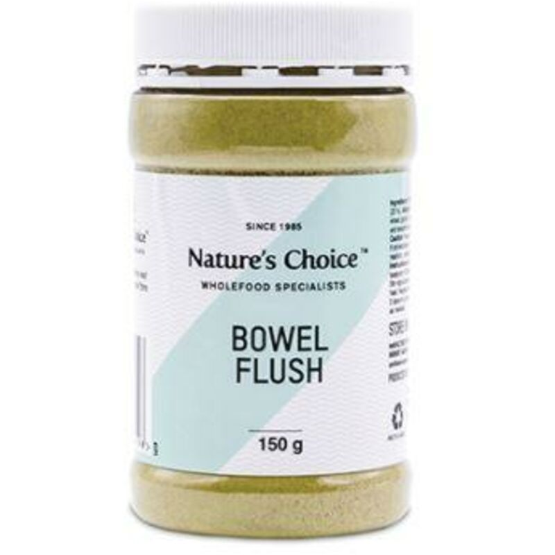 NATURES CHOICE BOWEL FLUSH POWDER GLUTEN FREE – 150G