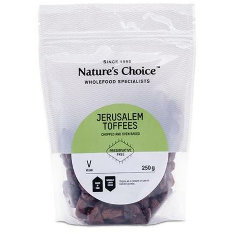 NATURES CHOICE JERUSALEM TOFFEES – 250G
