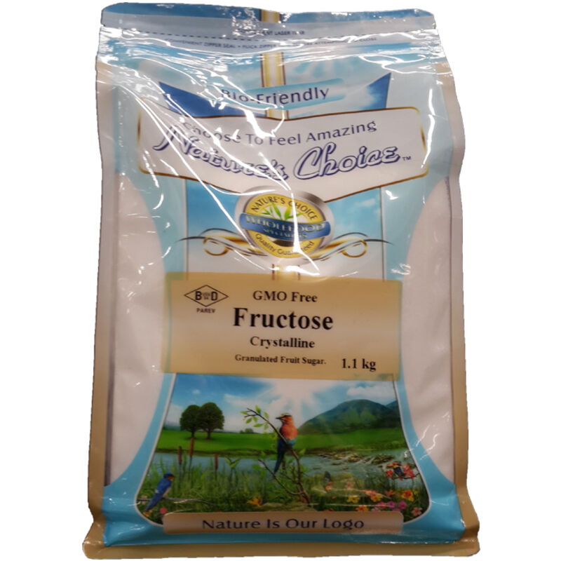 NATURES CHOICE SWEETENER FRUCTOSE – 1KG