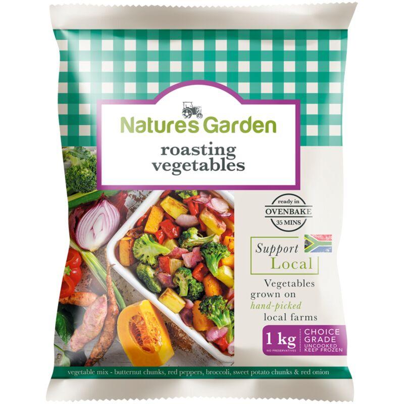 NATURES GARDEN ROASTING VEGETABLES – 1KG