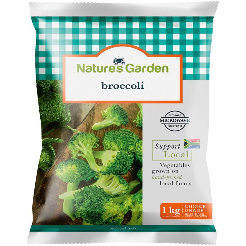 NATURES GARDEN BROCCOLI – 1KG