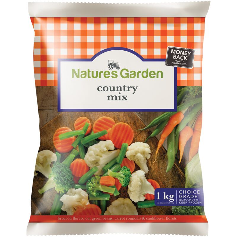 NATURES GARDEN COUNTRY MIX – 1KG