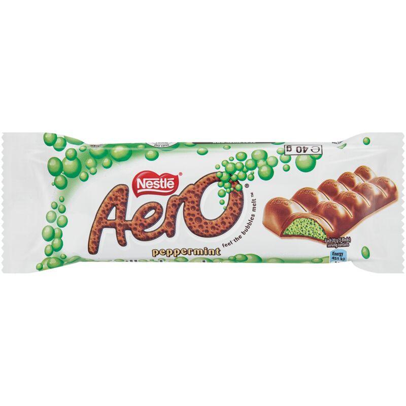 AERO CHOCOLATE PEPPERMINT – 40G