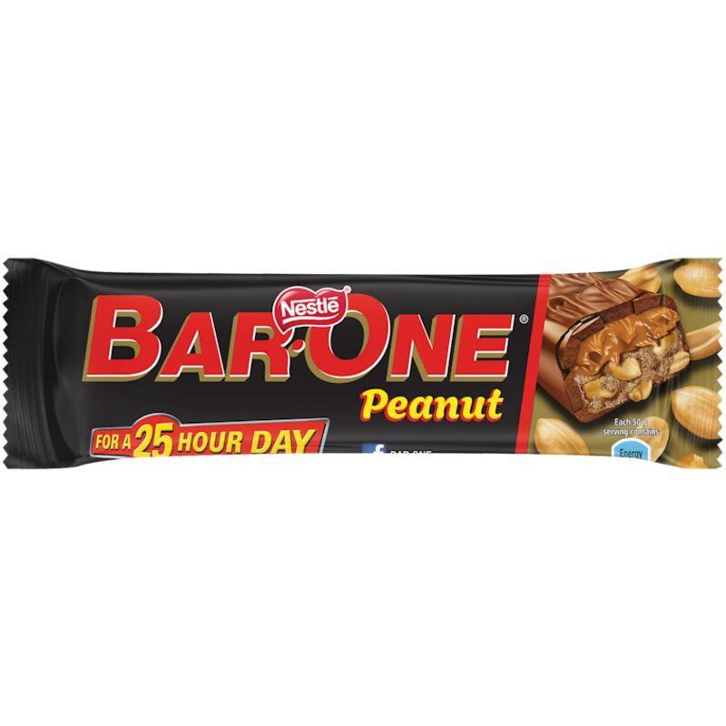 BAR ONE CHOCOLATE PEANUT – 50G