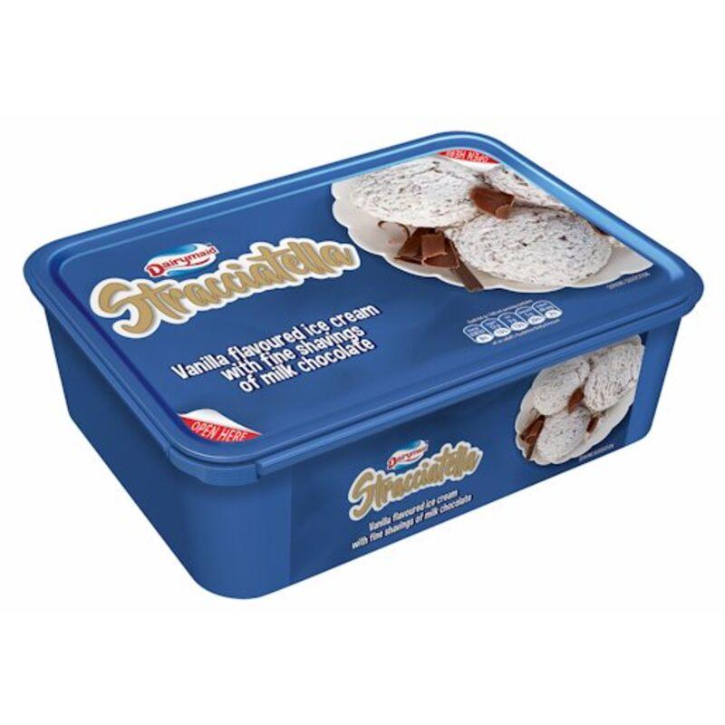 DAIRYMAID ICE CREAM STRACCIATELLA – 1.5L