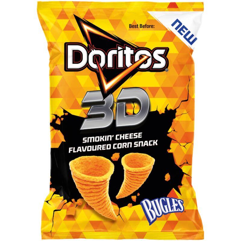DORITOS CHIPS 3D BUGLES SMOKIN CHEESE – 35G