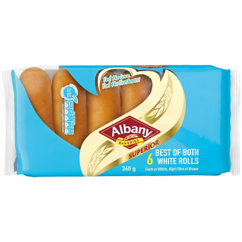 ALBANY ROLLS SUPERIOR BEST OF BOTH 6S – 360G