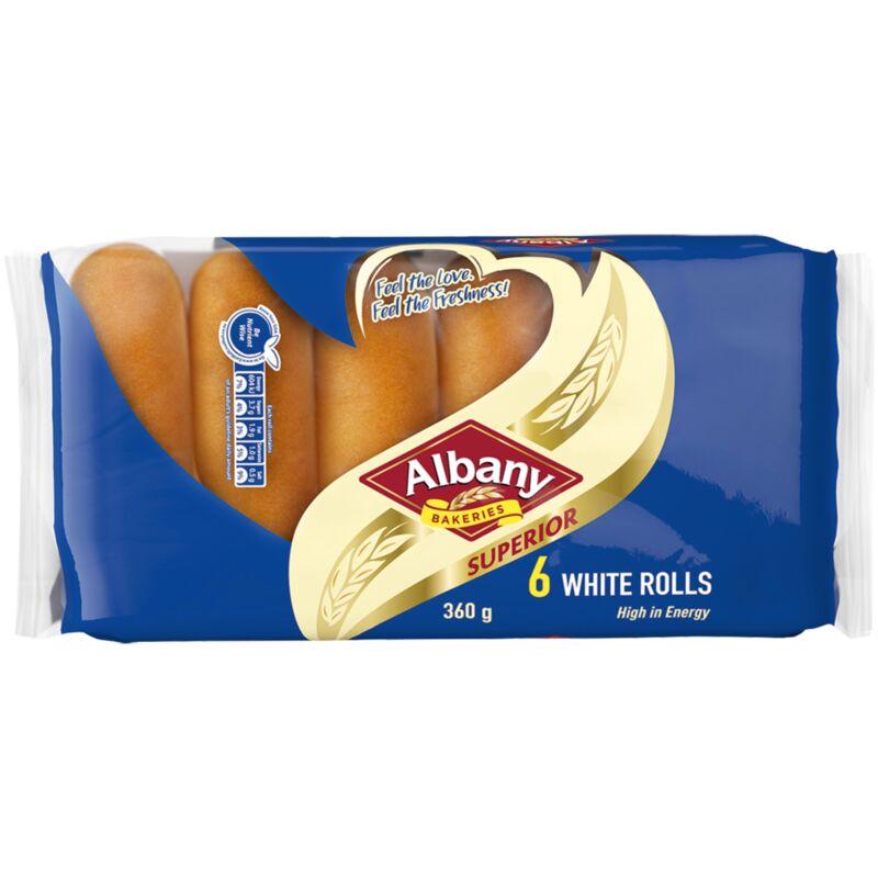 ALBANY ROLLS SUPERIOR WHITE – 360G
