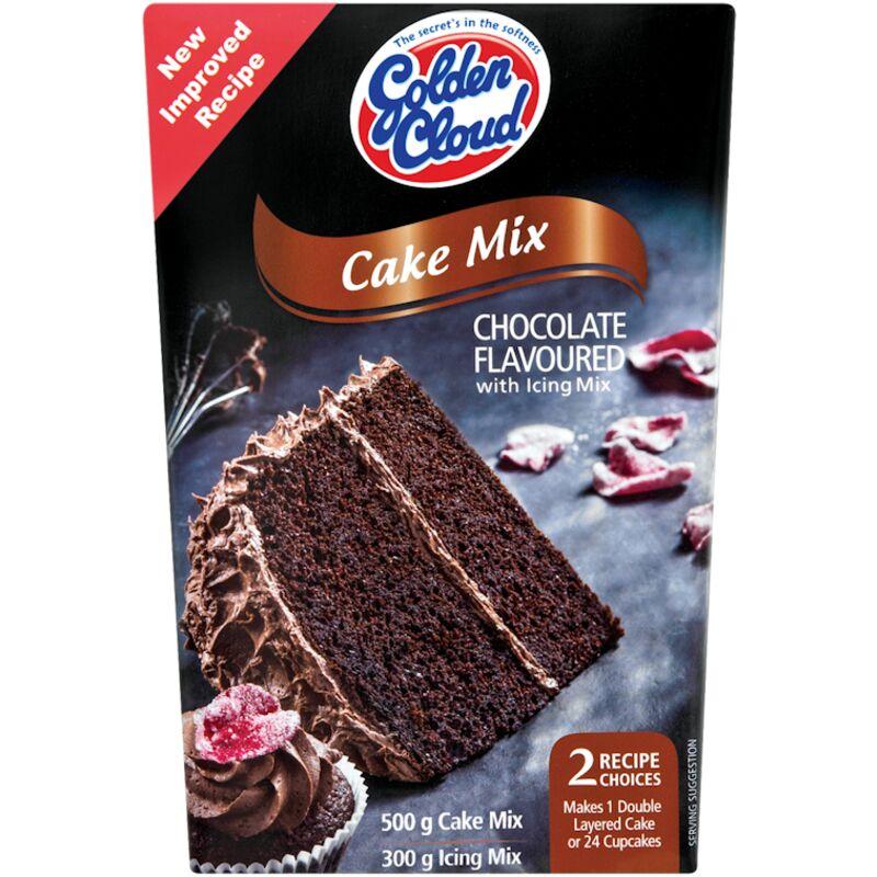 GOLDEN CLOUD CAKE MIX ICING CHOC – 800G