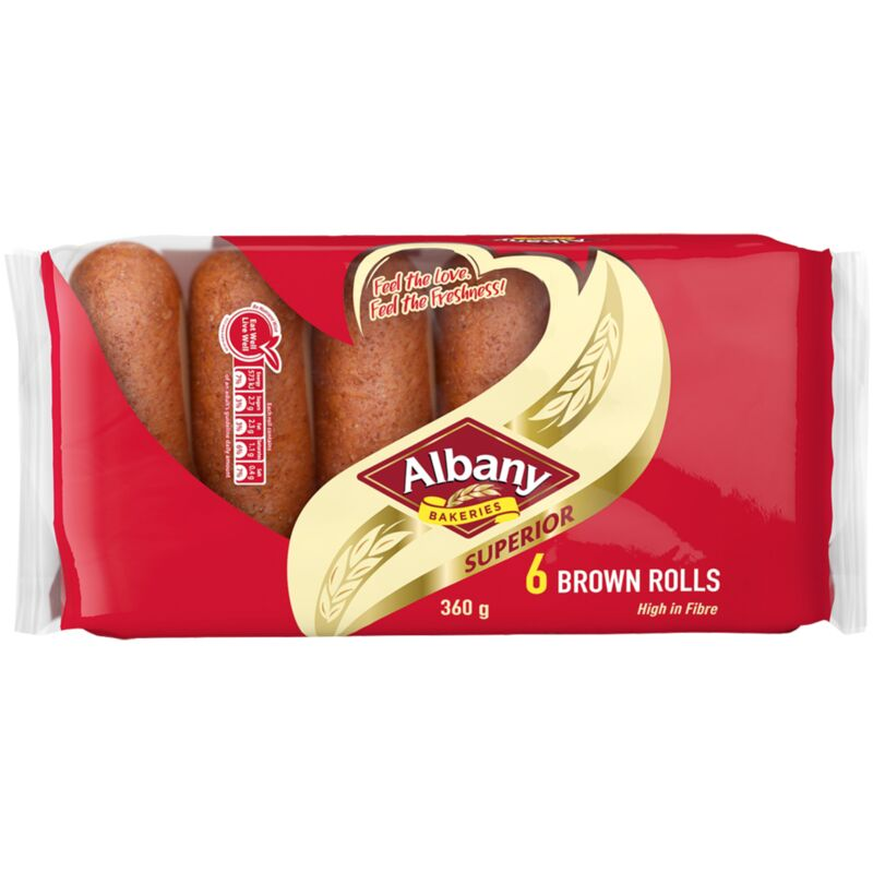 ALBANY SUPERIOR ROLLS BROWN – 360G