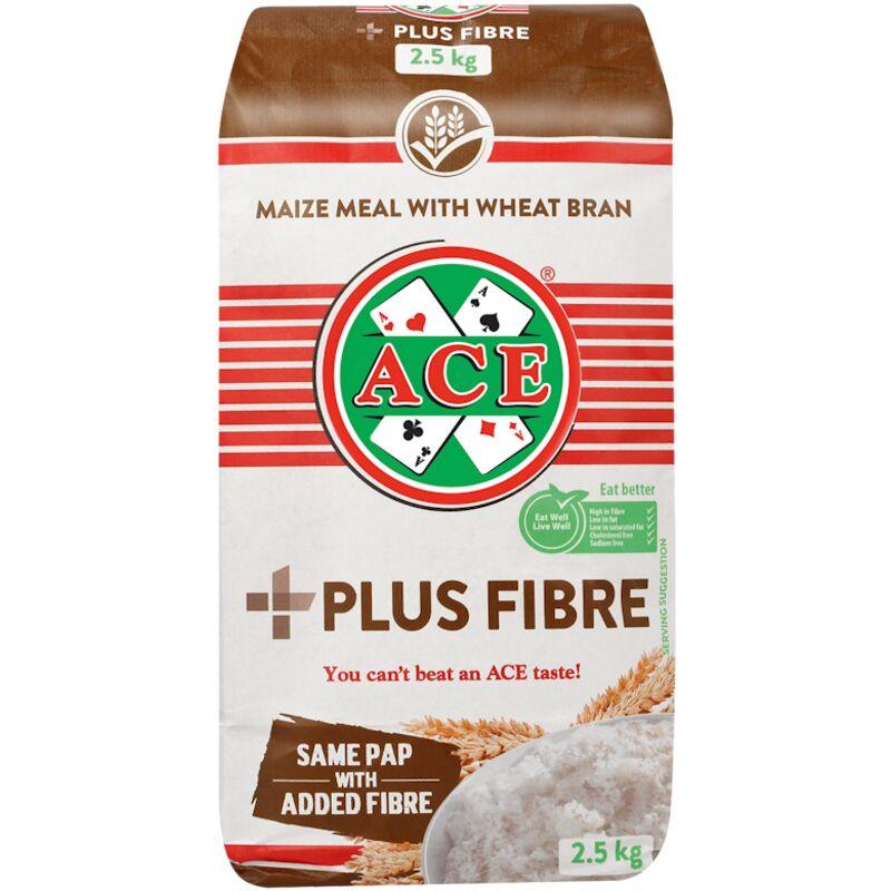 ACE MAIZE MEAL WHEAT BRAN PLUS FIBRE – 2.5KG