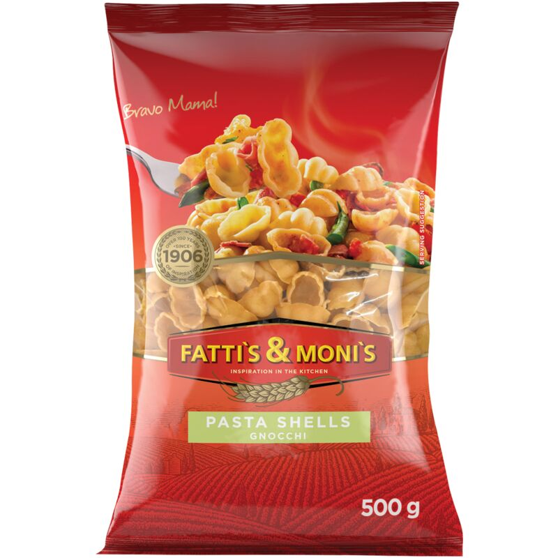 FATTIS & MONIS SHELLS – 500G