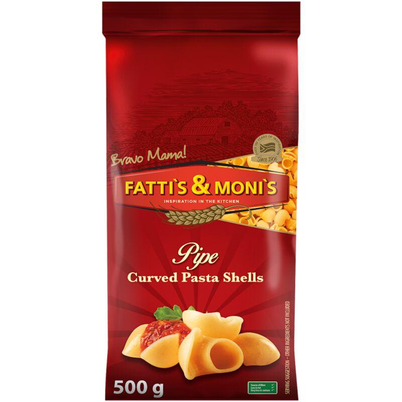 FATTIS & MONIS CURVED SHELLS – 500G