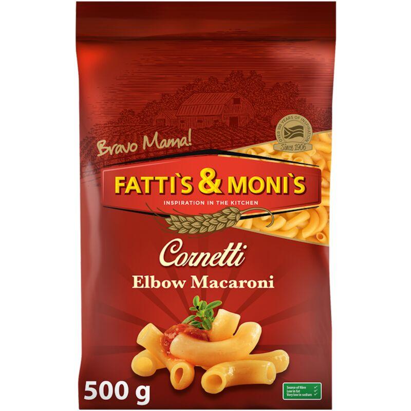 FATTIS & MONIS ELBOW MACARONI – 500G