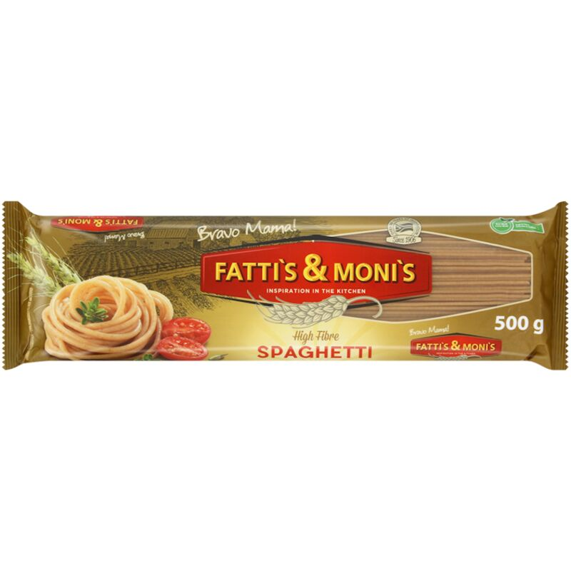 FATTIS & MONIS WHOLEWHEAT SPAGHETTI – 500G