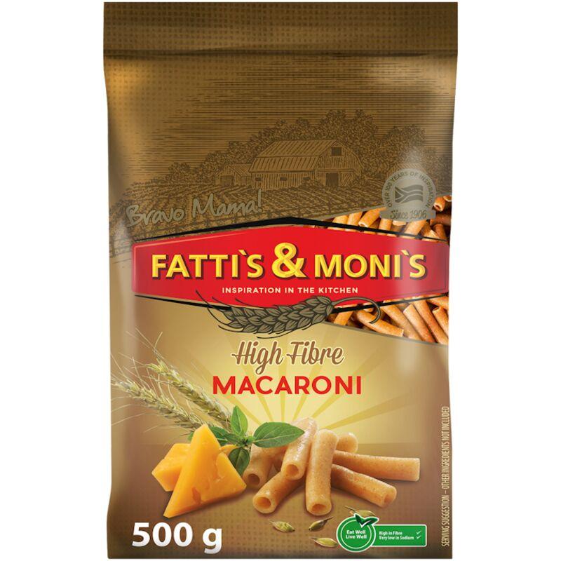 FATTIS & MONIS WHOLEWHEAT MACARONI – 500G