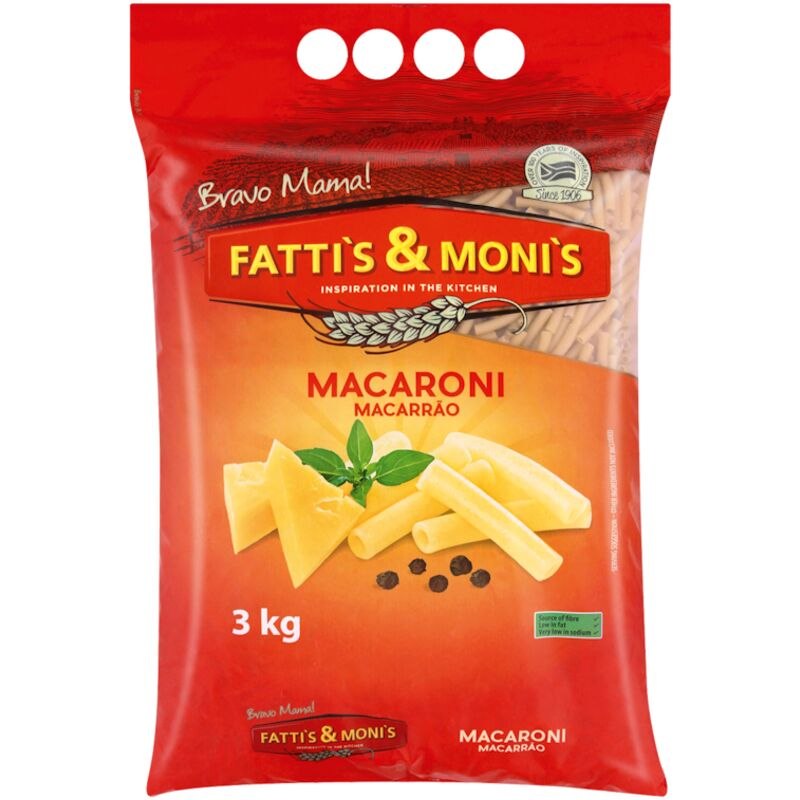 FATTIS & MONIS MACARONI – 3KG