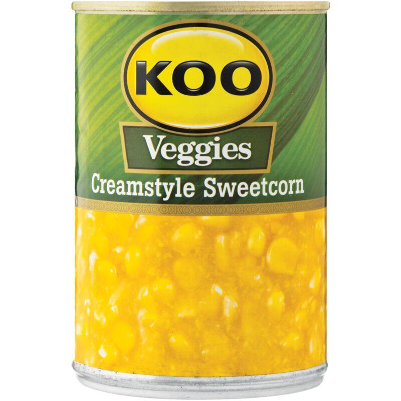 KOO SWEETCORN CREAM STYLE – 415G