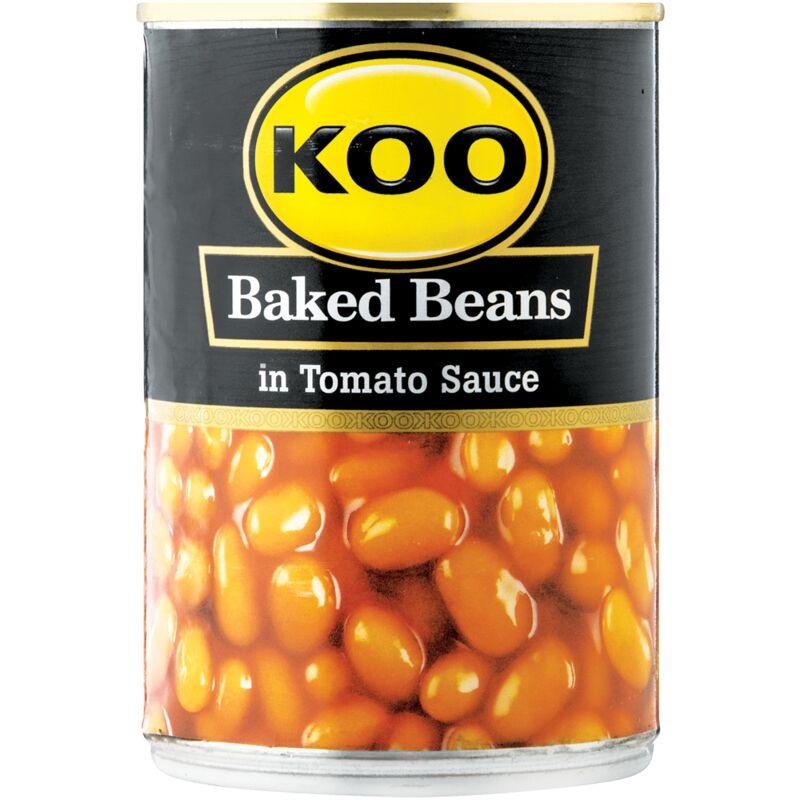KOO BAKED BEANS IN TOMATO SAUCE – 410G