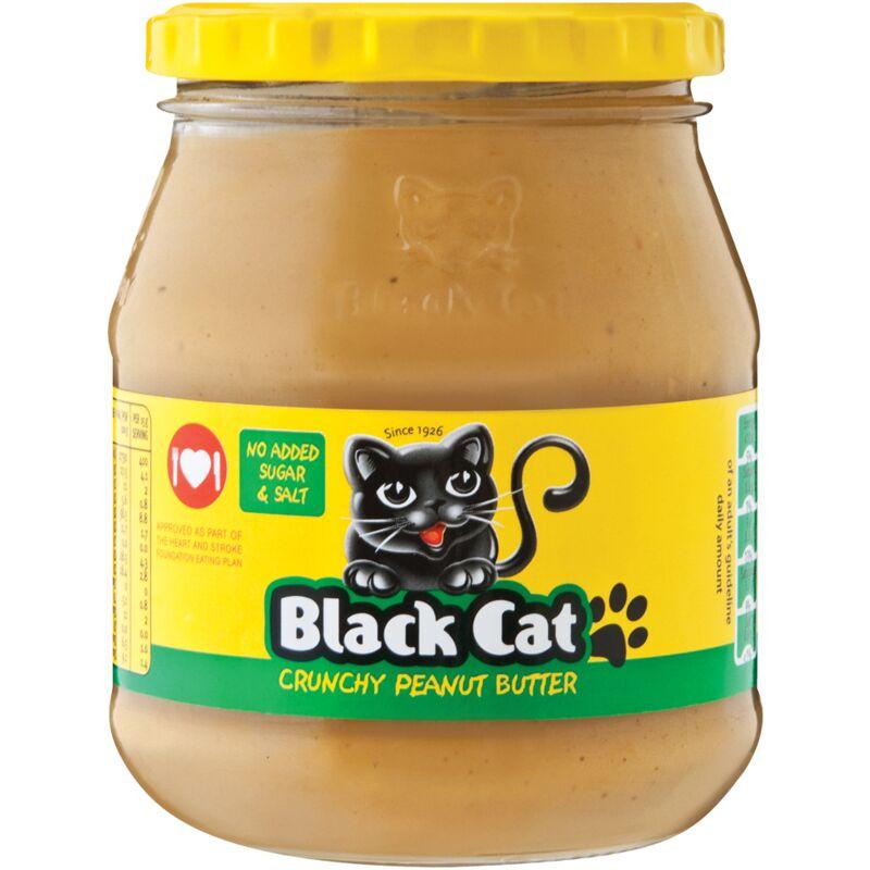 BLACK CAT PEANUT BUTTER CRUNCHY SUGAR FREE – 400G