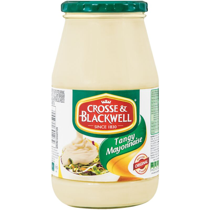 CROSSE & BLACKWELL MAYONNAISE TANGY – 385G