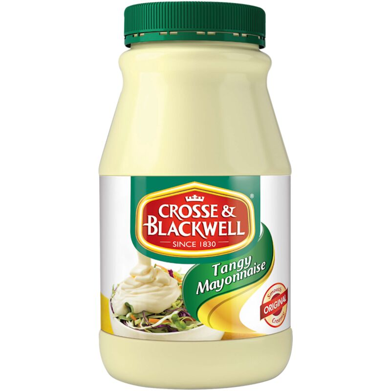 CROSSE & BLACKWELL MAYONNAISE TANGY – 1.5KG