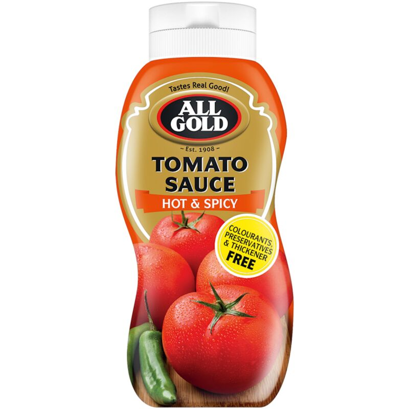 ALL GOLD SAUCE TOMATO HOTSPICY – 500ML