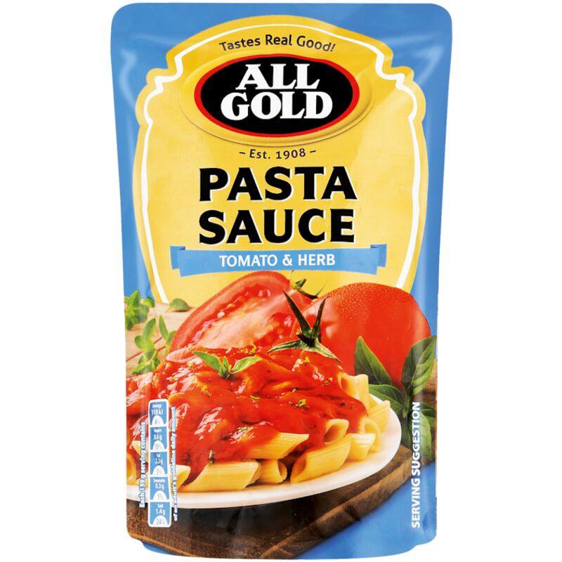 ALL GOLD PASTA SAUCE TOMATO & HERB – 405G