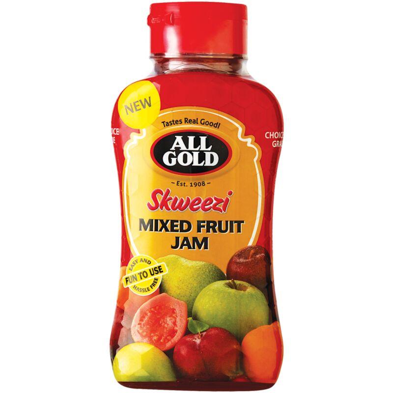 ALL GOLD SKWEEZI JAM MIXED FRUIT – 460G
