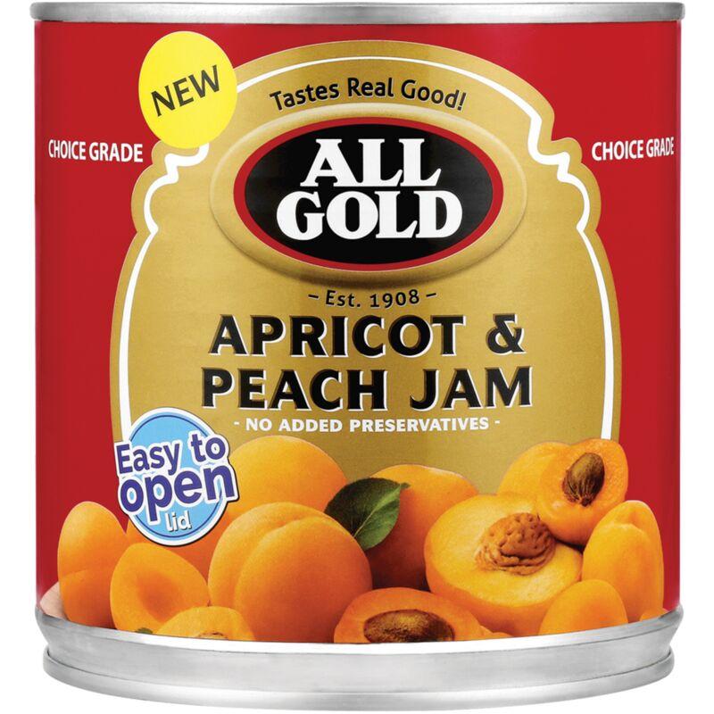 ALL GOLD JAM APRICOT PEACH – 900G