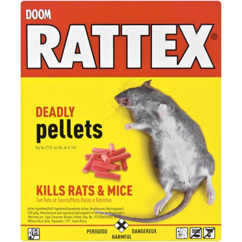 DOOM RATTEX DEADLY PELLETS – 100G