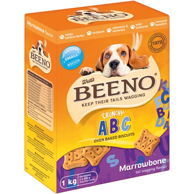 BEENO SMALL BISCUITS MARROWBONE FLAVOUR – 1KG