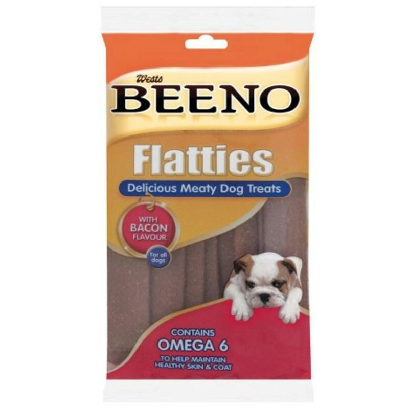 BEENO FLATTIES SMALL BACON – 120G