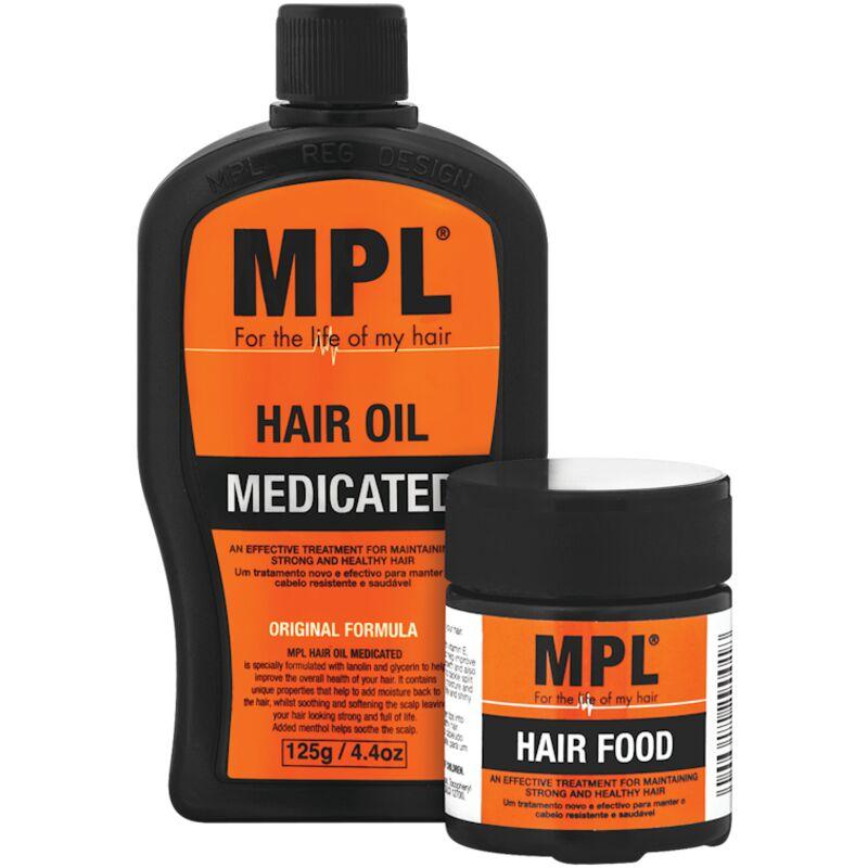MPL HAIR OIL MEDICATED – 125G