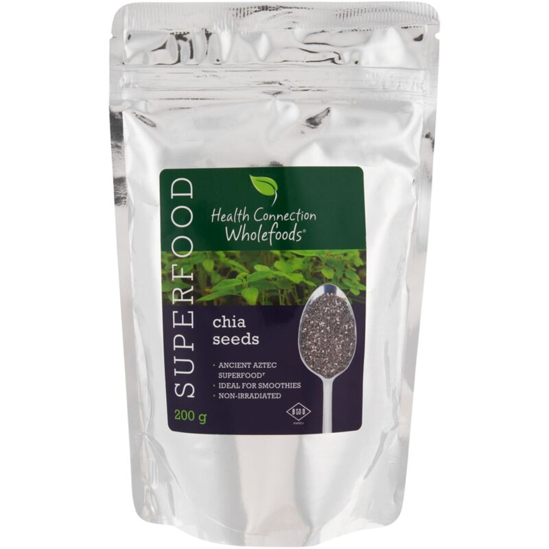 HEALTH CONNECTION CHIA SEEDS – 200G