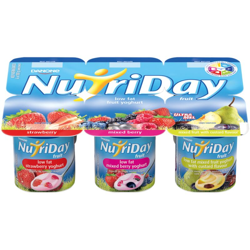 NUTRIDAY YOGHURT LOW FAT STEWED FRUIT CUSTARD MP – 6S