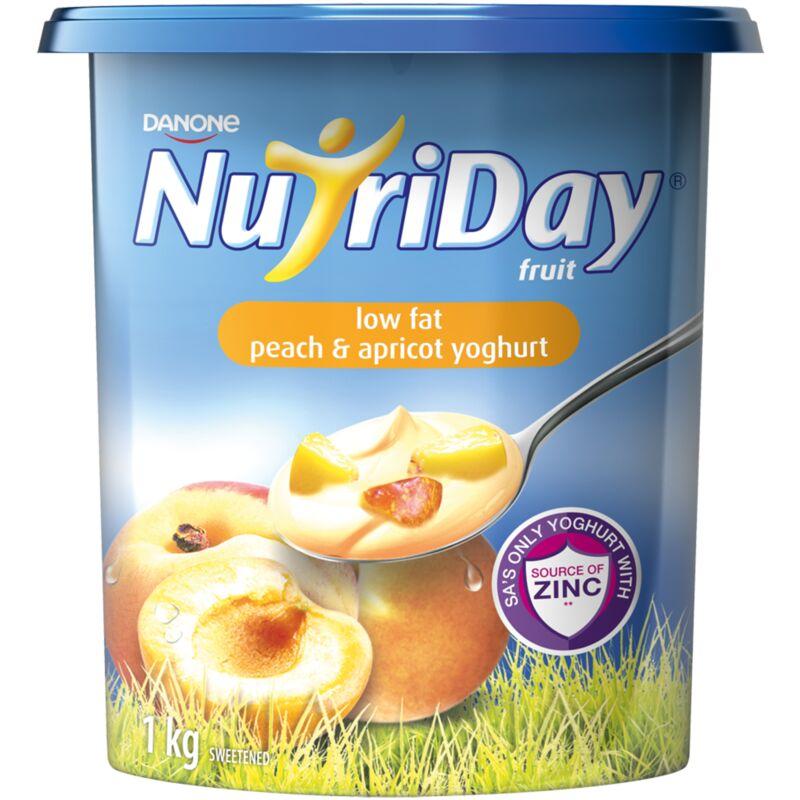 NUTRIDAY YOGHURT FRUIT APRICOT – 1L