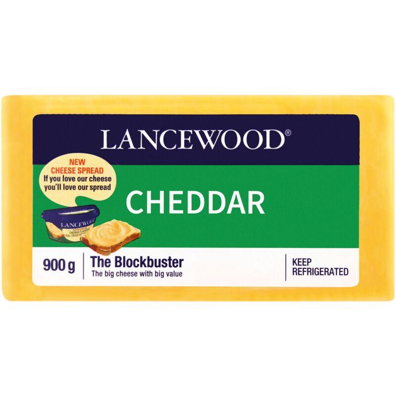 LANCEWOOD CHEESE CHEDDAR – 900G